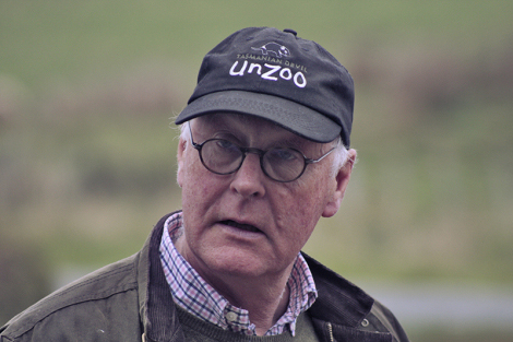 award winning Unzoo founder and director John Hamilton